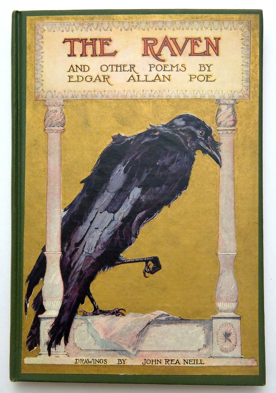 Edgar Allan Poe The Raven Poem Original Art Print