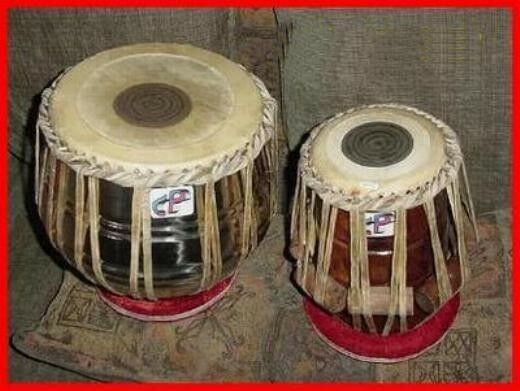 New CP Brand TABLA Indian Percussion Drum Set FREE CARRY ...