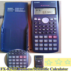 New Calculator Casio FX-82MS Business/Scientific ...