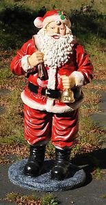 XXL Weihnachtsmann NIKOLAUS SANTA CLAUS Figur Groß ...