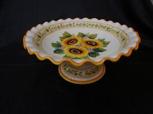 Quali sono le tecniche impiegate per decorare le piastrelle in ceramica? Centrotavola Ceramica A Altri Articoli Per La Decorazione Della Casa Acquisti Online Su Ebay