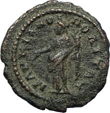 ELAGABALUS Authentic Ancient 218AD Marcianopolis Roman Coin HOMONOIA i71251
