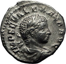 Severus Alexander 222AD Authentic  Silver Ancient Roman Coin Liberty i60307