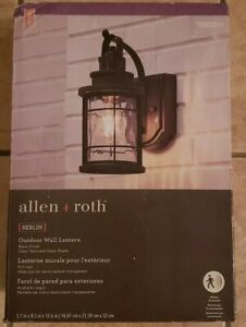 allen roth led outdoor lighting for