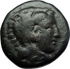 ALEXANDER III the GREAT 336BC Macedonia Ancient Greek Coin HERCULES CLUB i70486