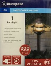westinghouse walkway path lights for