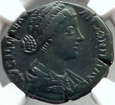 LUCILLA wife of Lucius Verus 161AD Rome Sestertius Ancient Roman Coin NGC i68715