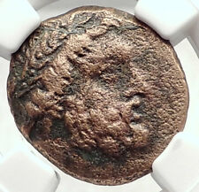 ODESSOS in THRACE 270BC Ancient Greek Coin GREAT GOD Derzelas HORSE NGC i73114