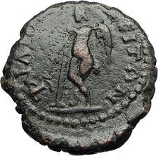 SEPTIMIUS SEVERUS Philippopolis Authentic Ancient Roman Coin w THANATOS i71277