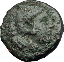 ALEXANDER III the GREAT 336BC Macedonia Ancient Greek Coin HERCULES CLUB i64610