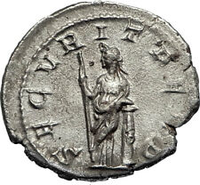 GORDIAN III 244AD Rome Authentic Ancient Silver Roman Coin Securitas i67343