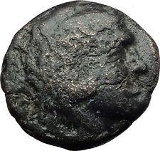 PHILIP V Macedonia King 221BC  RARE R1 Ancient Greek Coin  HERCULES GOATS i63157
