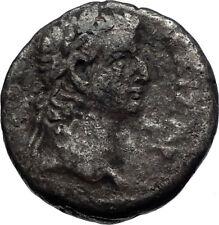 NERO & TIBERIUS 66AD Ancient Roman Tetradrachm Coin Alexandria Egypt i71760