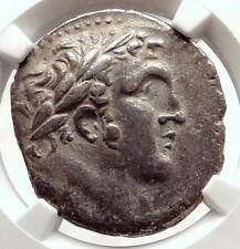 TYRE SHEKEL Ancient BIBLICAL Silver Jewish Temple Tax Greek Coin NGC i71326