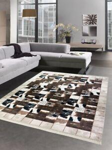 tapis peau de vache dans tapis pour la