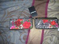 portefeuille cartes monnaie DESIGUAL neuf avec etiquette tsukiflo ab 1