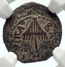 Herod AGRIPPA I JERUSALEM Biblical Claudius Time Ancient Greek Coin NGC i70937