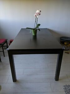 table console extensible ikea ebay