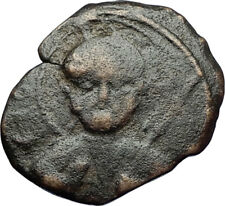 CRUSADERS of Antioch Tancred Ancient 1101AD Byzantine Time Coin St Peter i69533