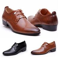 Chaussures Cuir Homme Mariage Habillées 1 Paire de Détente Bonne Affaire