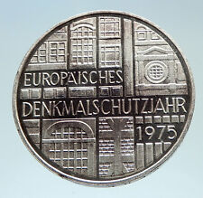 1975 GERMANY Preserve Historic Monuments Genuine Proof Silver German Coin i75332