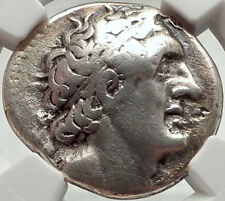 PTOLEMY I Soter Authentic Ancient 305BC Silver Greek Tetradrachm Coin NGC i68283