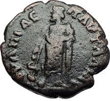 SEPTIMIUS SEVERUS  Ancient Nicopolis ad Istrum Roman Coin w ASCLEPIUS   i71023