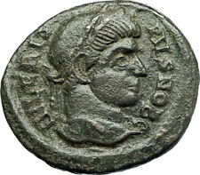 CRISPUS Caesar Constantine the Great son 321AD Ancient Roiman Coin WREATH i76687