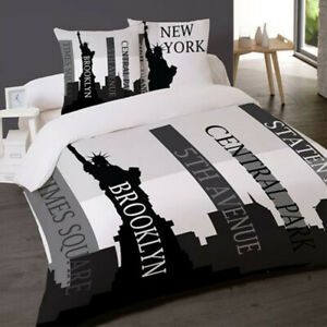housse couette new york ebay