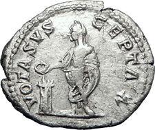 CARACALLA 206AD Rome Silver Authentic Genuine Ancient Roman Coin i70216