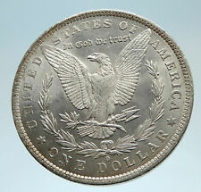 1883 UNITED STATES of America SILVER Morgan Antique US Dollar Coin EAGLE i75352