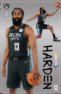 james harden nba posters for sale ebay