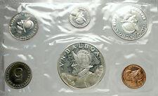 1968 PANAMA Large Silver CONQUISTADOR BALBOA Genuine Proof 6 Coin Set i76330