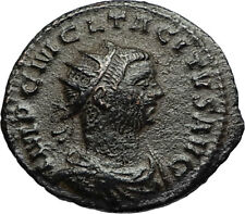 TACITUS Authentic Ancient 275AD Original Genuine Roman Coin w JUPITER i67057