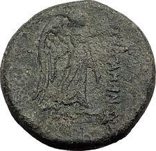 PERGAMON in Mysia Genuine  133BC Authentic Ancient Greek Coin ATHENA NIKE i62575