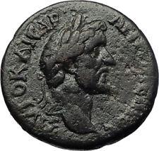 ANTONINUS PIUS Authentic Ancient Genuine Roman Provincial Coin w HERA i70719