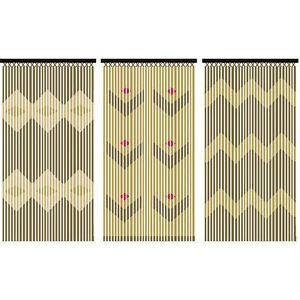 rideau porte bambou dans autres rideaux