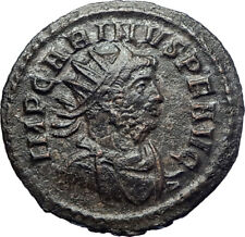 CARINUS 284AD Rome Ancient Roman Coin Sacred Firebird Phoenix Aeternitas i73621