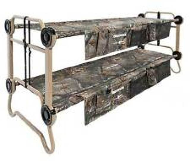 Disc O Bed Large Cam O Bunk Benchable Bunked Realtree Double Cot