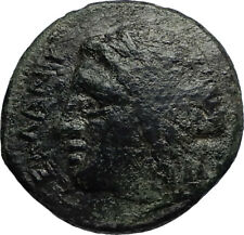 SYRACUSE in SICILY Authentic Ancient 287BC Greek Coin w ZEUS & EAGLE i67173