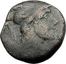 Amastris Paphlagonia 105BC RARE R2 Mithradates VI Greek Coin ARES SWORD i62840