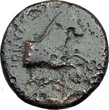Kolophon Colophon IONIA 360BC Authentic Ancient Greek Coin APOLLO & HORSE i63060