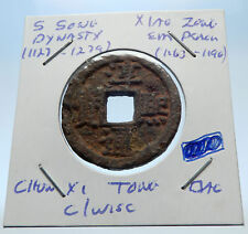 1163AD CHINESE Southern Song Dynasty Genuine XIAO ZONG Cash Coin of CHINA i72335