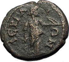 ELAGABALUS Very Rare PERGA Pamphylia Authentic Ancient Roman Coin ARTEMIS i71121