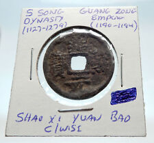 1190AD CHINESE Southern Song Dynasty Genuine GUANG ZONG Cash Coin CHINA i75256