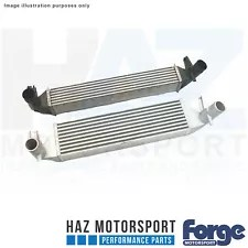 Forge Motorsport Uprated Intercooler + Black Hoses For VW Polo GTI 1.8T 2015