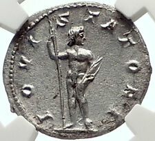 GORDIAN III Authentic Ancient 241AD Silver Roman Coin of Rome JUPITER NGC i68947