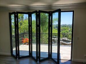aluminum folding door home doors for