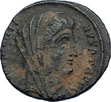 CONSTANTINE I the Great CHARIOT to GOD HAND in HEAVEN Ancient Roman Coin i68031