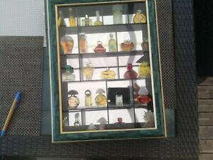 vitrine miniature parfum ebay